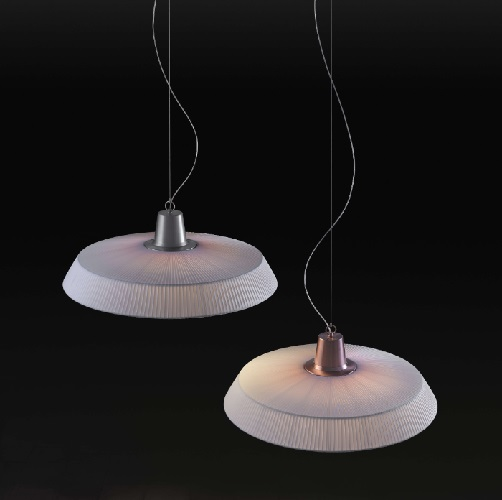 Marietta - 90 (Solo Structure) Lamp Pendant Lamp without lampshade LED 28w TRIAC Copper Satin