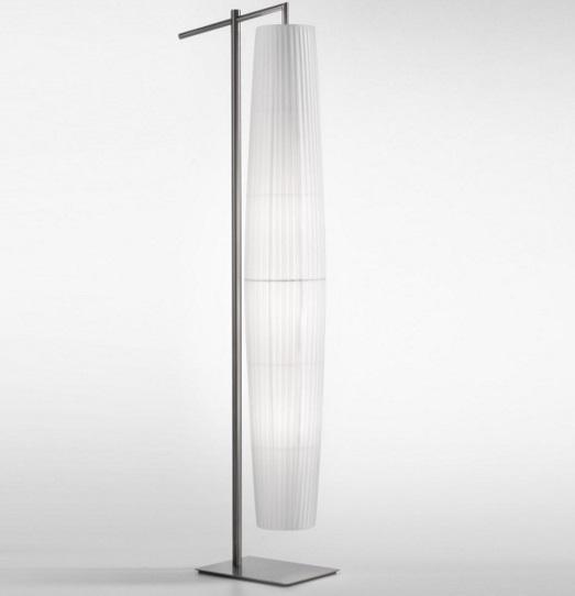 Maxi - 01 (Solo Estructura) Lámpara de Pie sin pantalla E27 46w níquel Satinado