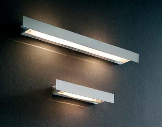 Plana - 01 Wall Lamp 80w Chrome Shiny