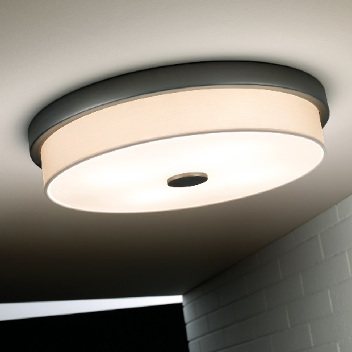 Rondo - F (Solo Structure) ceiling lamp without lampshade 55w T5 Ní­quel Satin