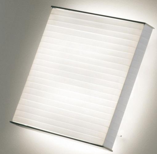 Silantra - 04 Wall lamp/ceiling lamp T5 24w Cinta translucent Cream