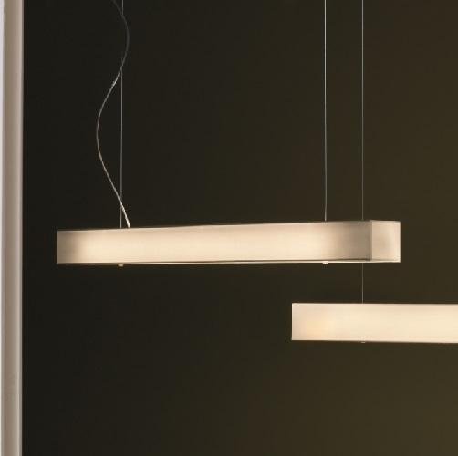 Tekno - LP 100 Lamp Pendant Lamp T5 39w Cinta translucent white