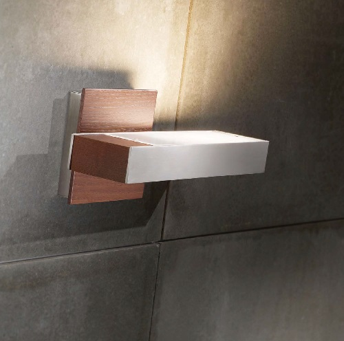 Timea - to Wall Lamp R7S 120w Níquel Satin