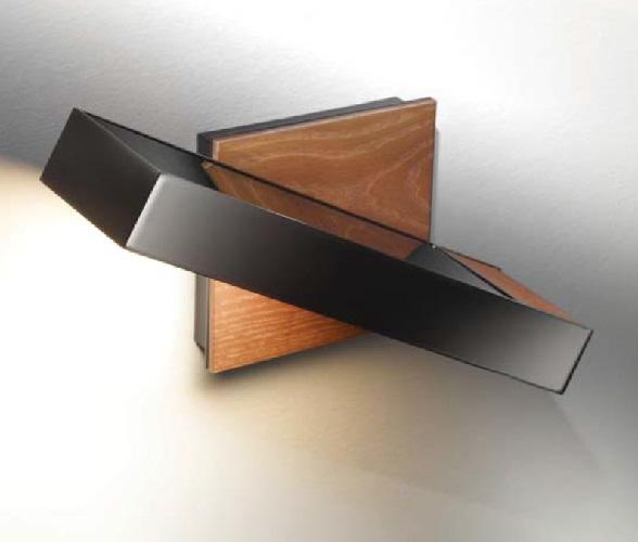 Timea - to Wall Lamp R7S 120w Chrome-Black