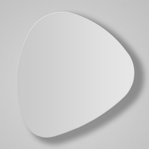 Tria - 02 Wall Lamp LED 13w white Lacquered Satin