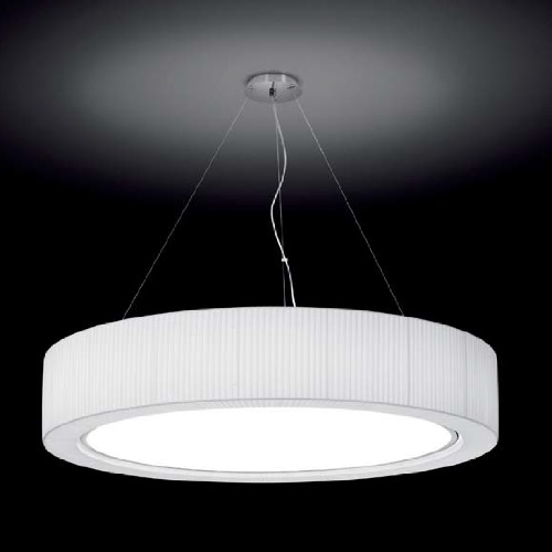 Urban - 90 Lamp Pendant Lamp Outdoor E27 22w Chrome-Cinta translucent white