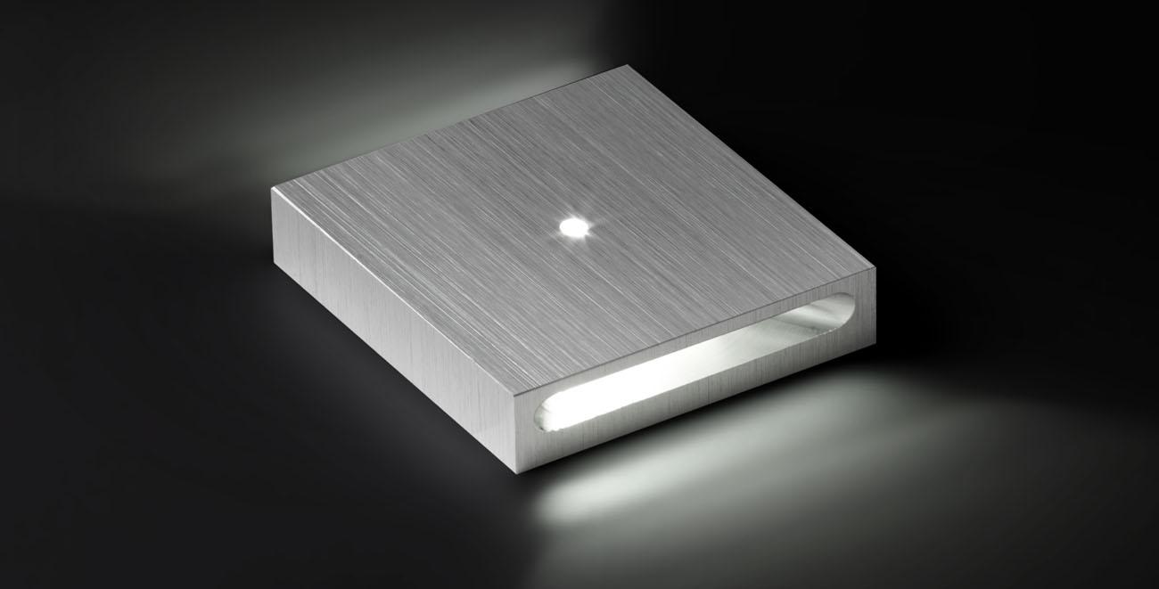 8031 Luminaria de orientacion 3 uds LED Aluminio