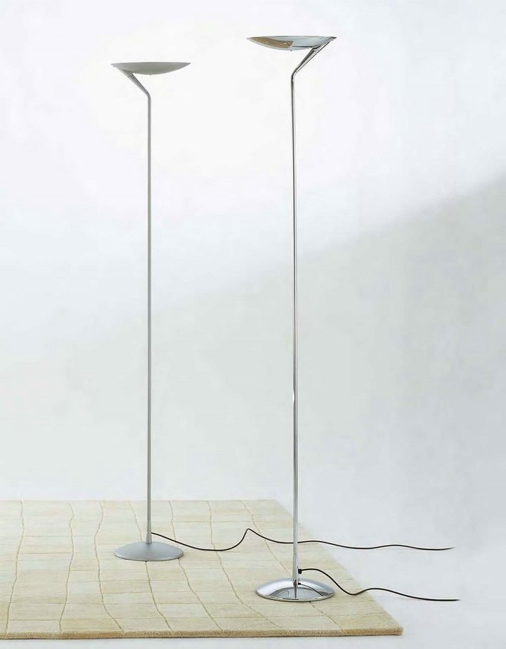 Atenea lámpara of Floor Lamp Chrome