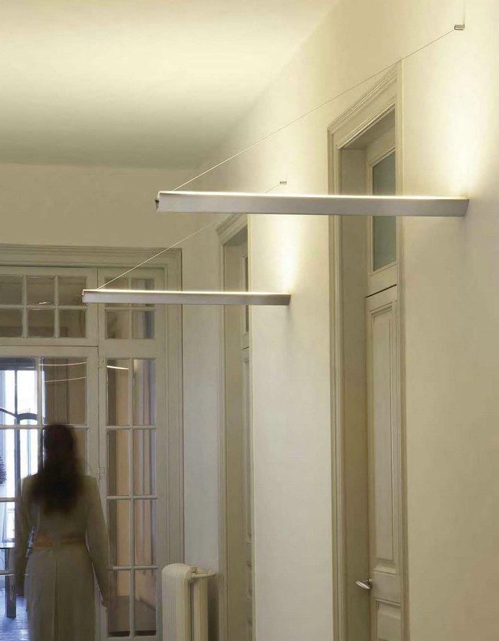 Flexia Column Wall Lamp 65cm