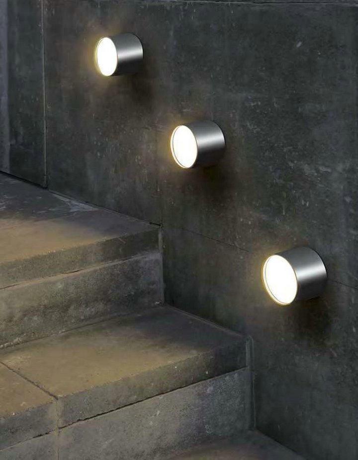 Morgan Wall Lamp ø9cm GX53 Nickel mate
