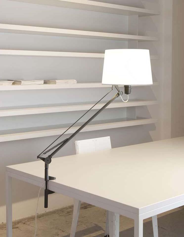 Lektor pin of Table Lamp stone grey