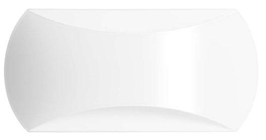 Elle Wall Lamp 42cm white opal