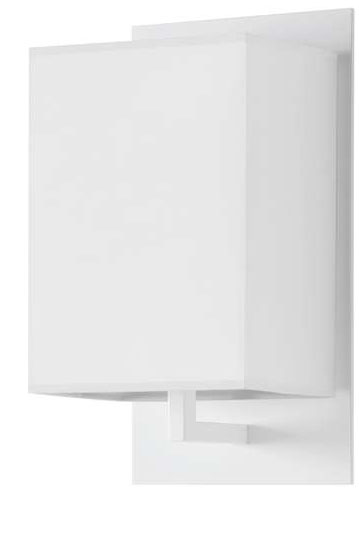 Mood Wall Lamp Lacquered Shiny white white lampshade