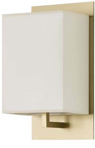 Mood Wall Lamp Lacquered Shiny Gold lampshade Beige