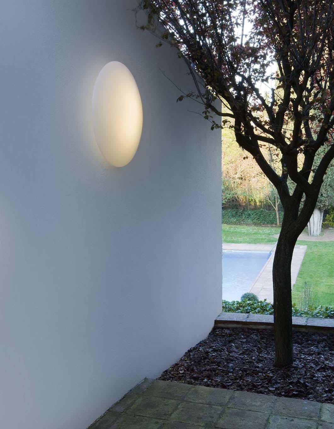 Ufo Wall lamp/ceiling lamp Aluminium