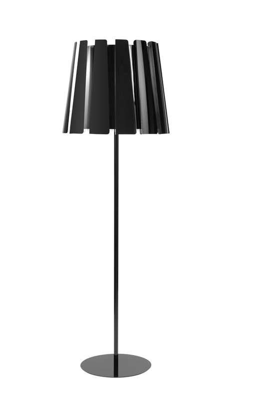 Twist lámpara of Floor Lamp 180cm Black