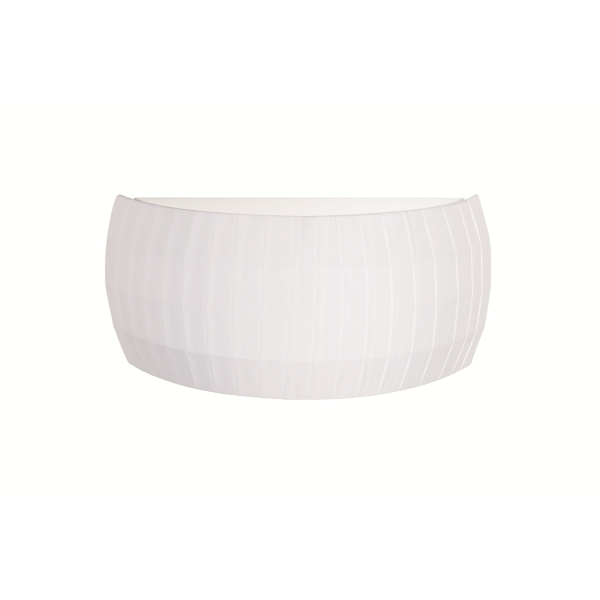 Isamu Wall Lamp 45cm white lampshade