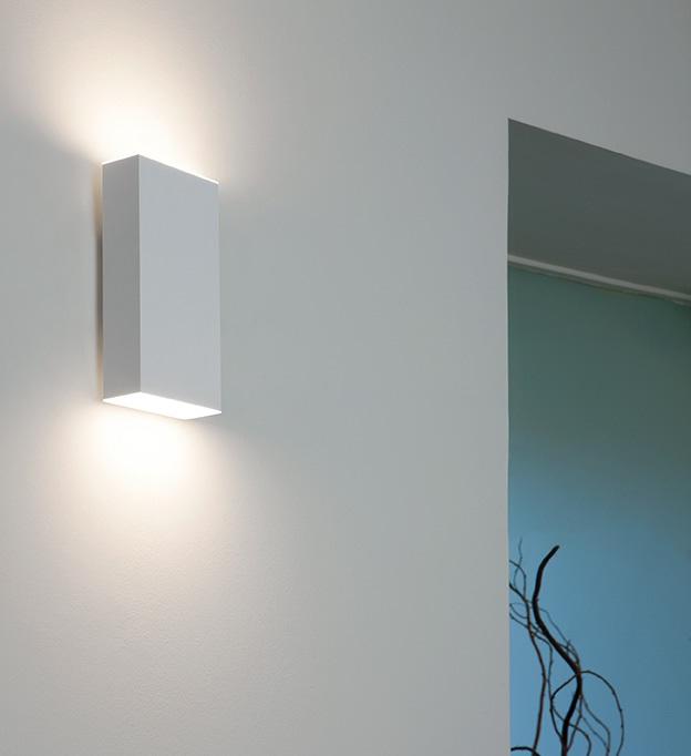 Kube Wall Lamp LED 2x7,5w white