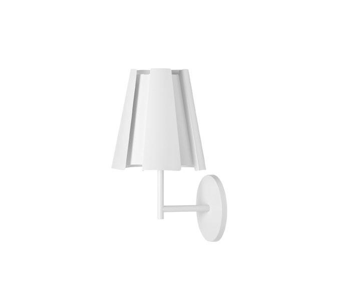 Little Twist Wall Lamp 31cm white