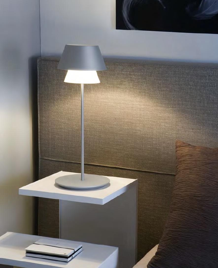 Gala Table Lamp E14 60w metallic lead