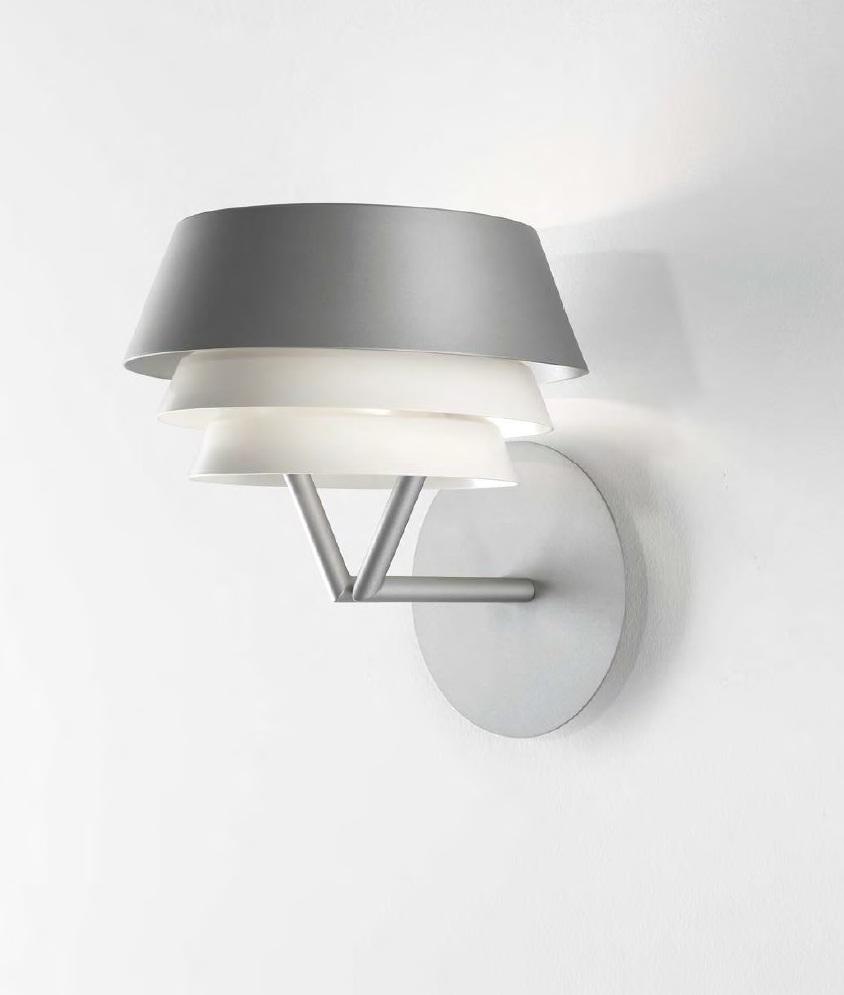 Gala Wall Lamp lampshade triple R7s 300w metallic lead