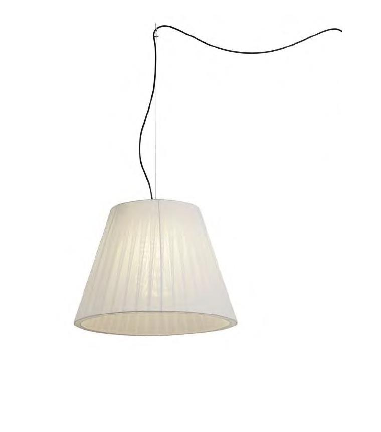 Sasha Plus Pendant Lamp Outdoor IP66 ø75cm E27 1x22W White