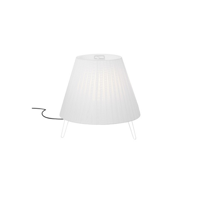 Sasha Plus lámpara of Floor Lamp Outdoor IP66 ø75cm E27 1x22W White