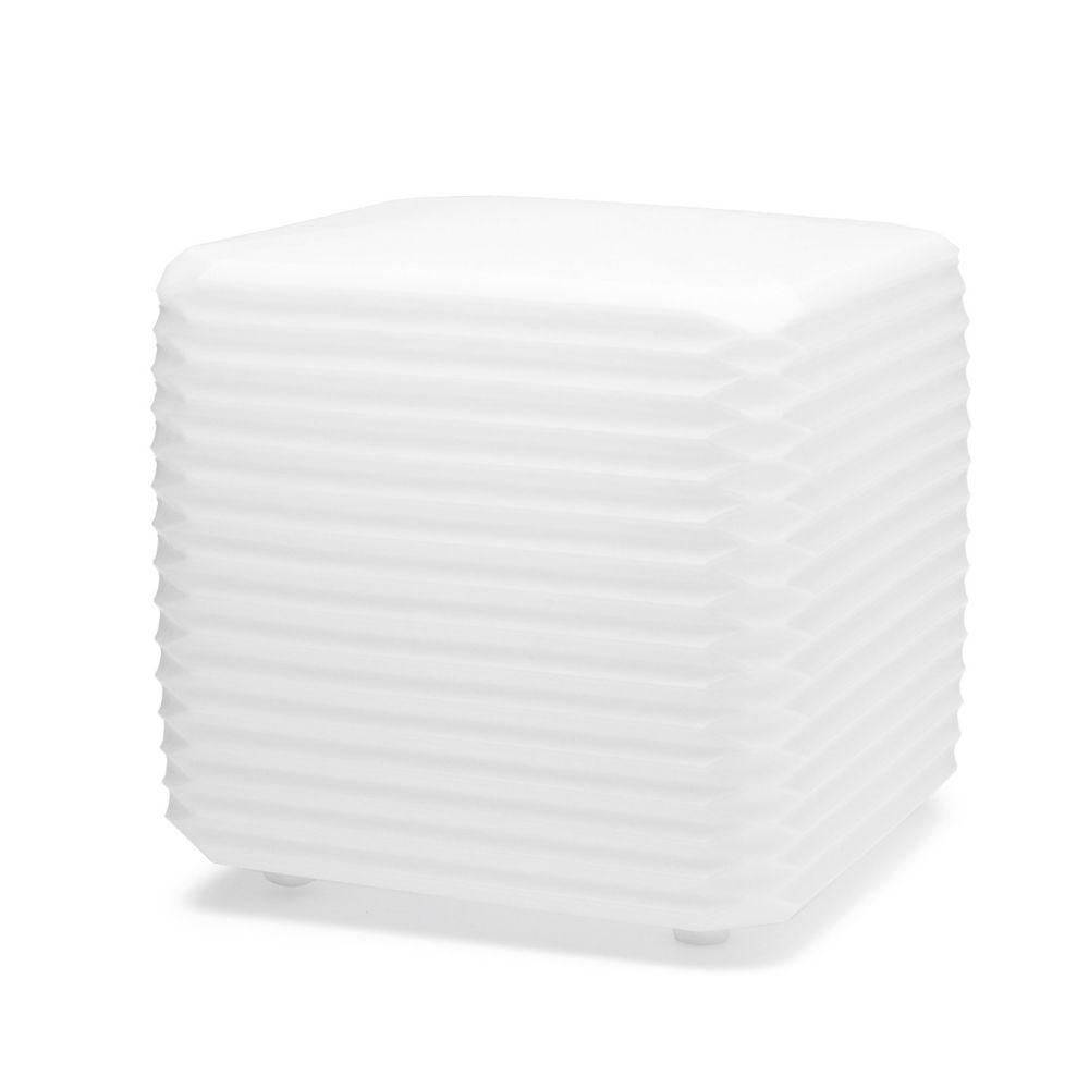 ZigZag Applique 34cm E27 22w cavo 9m bianco