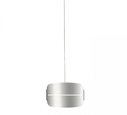 Irma Pendant Lamp 40cm without florón Grey metallized/white