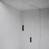 Luceblack Pendant Lamp 2x50w polea
