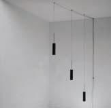 Luceblack Pendant Lamp 3x50w polea