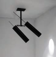 LUCENERA ceiling lamp 2x50w