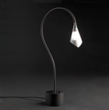 Lampadina Table Lamp Nickel Satin
