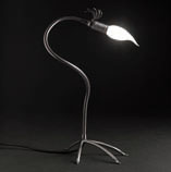 PULI' Table Lamp Nickel Satin