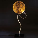 LUCE D'ORO Table Lamp Silver
