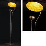 'O SOLE MIO lámpara of Floor Lamp 240/260cm Gold