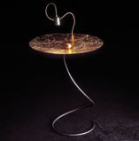 TAOLI' table with light Gold