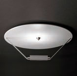 Disc ceiling lamp white/BLANCO