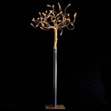 ALBERO Della Luce lámpara of Floor Lamp , forma variable HIERRO/Copper