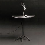 Cocotte Comodino Luce Table Lamp with light Halogeno