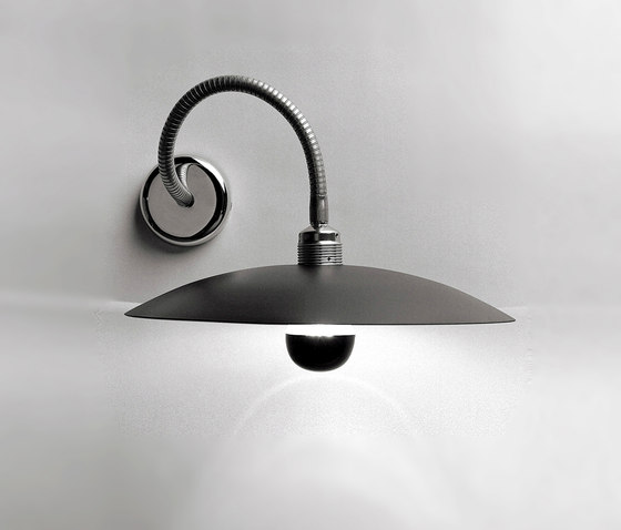 Minimalismo 12 Wall Lamp Aluminium