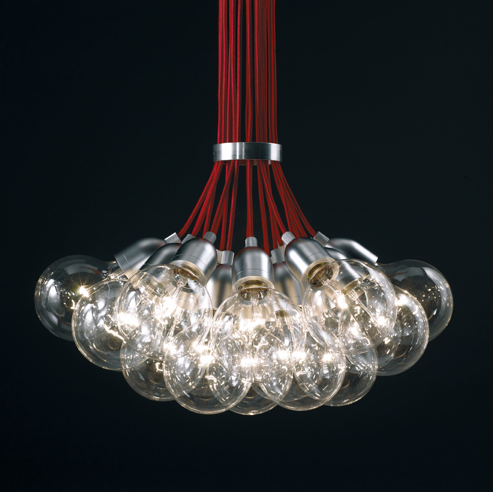 Ilde max 13 Pendant lamp net wire E27 13x25w Chrome