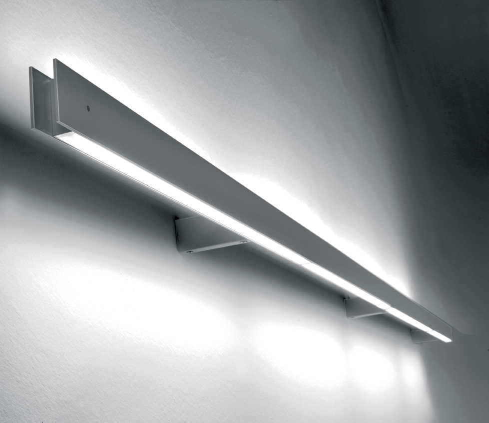 Marc W130 arm Aplique dos luces G5 2x54w Gris mate