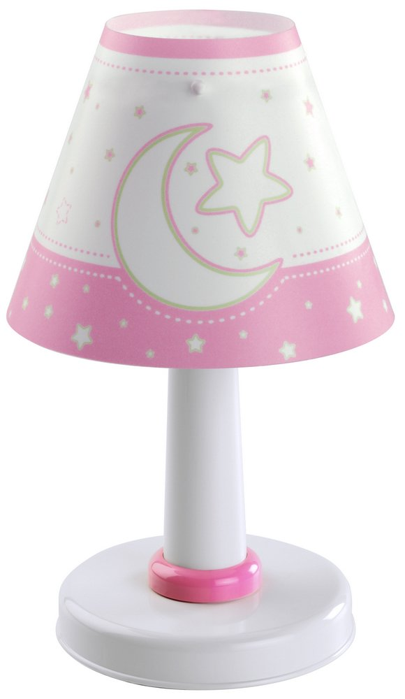 MOON light pink Lamp childish Table Lamp