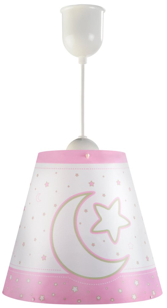MOON light pink Lamp childish Pendant Lamp