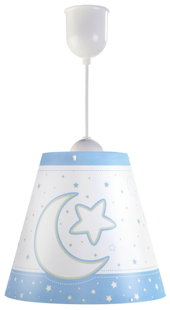 MOON light Blue Lamp childish Pendant Lamp
