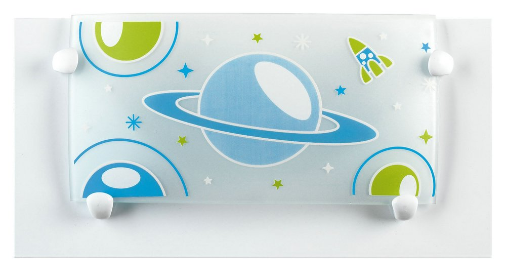 PLANET white Lamp childish Wall Lamp