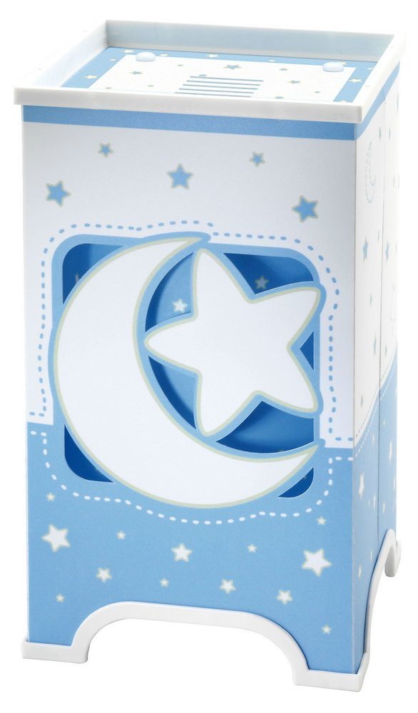 LUNA Blue Lamp childish Table Lamp LED