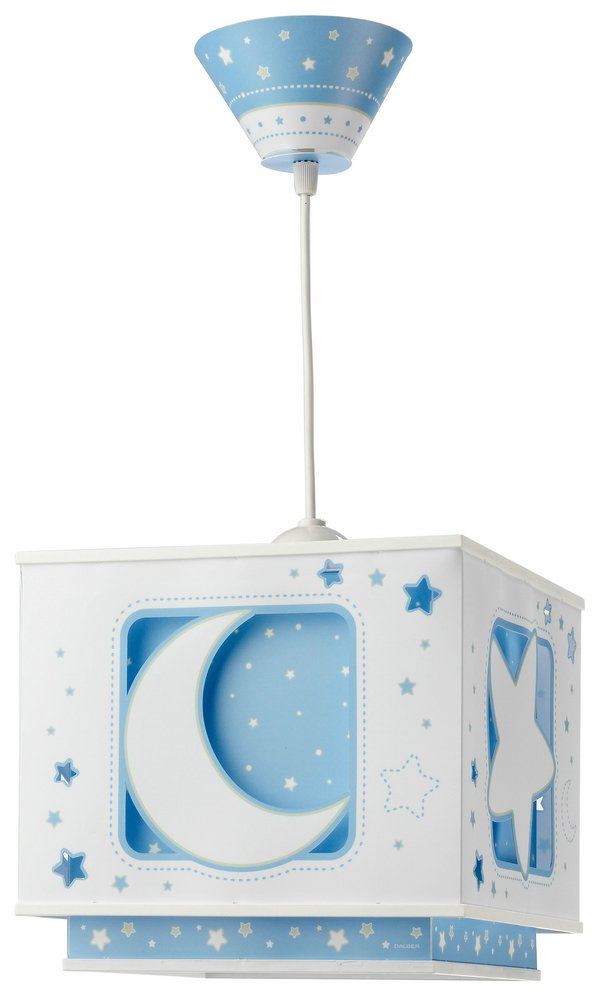 LUNA Blue Lamp childish Pendant Lamp
