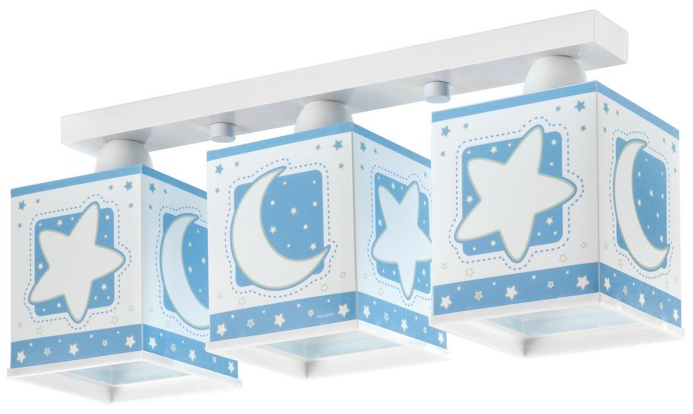 LUNA Blue 3L Lamp childish regleta
